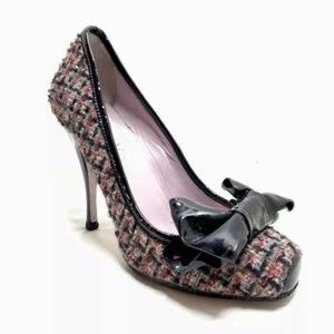 Red Valentino Poppy Tweed Pumps
